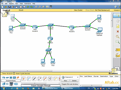Packet Tracer Configuring SSH